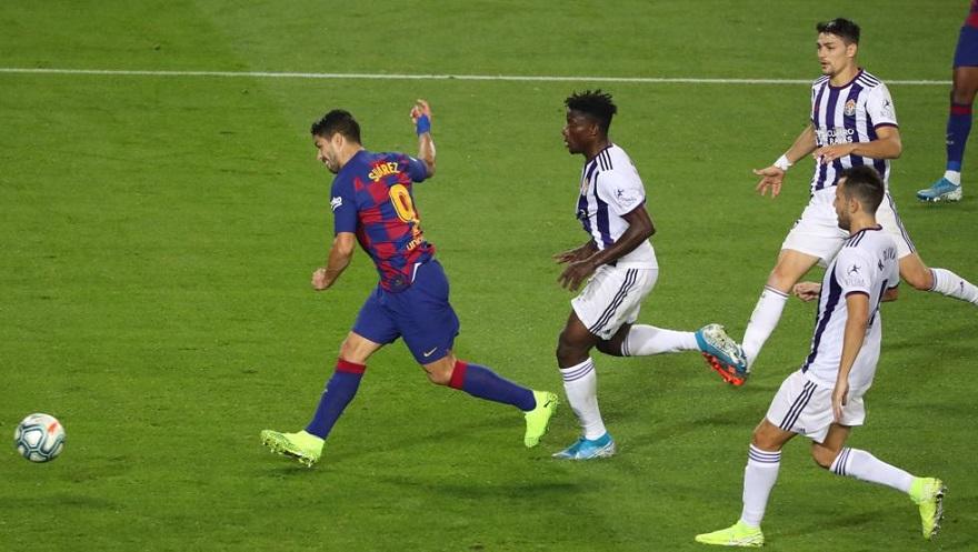 Suarez hoàn thành kỳ tích đối mặt với 27 đội bóng ở La Liga