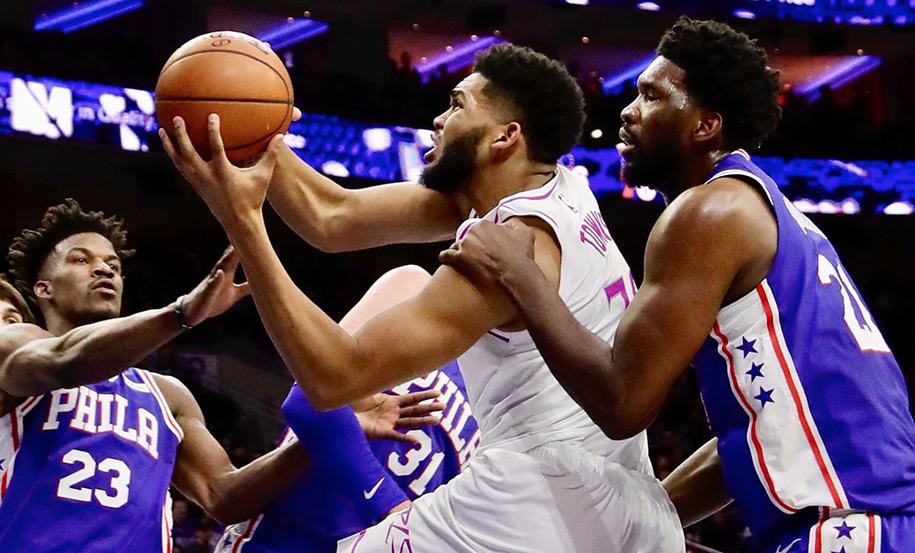 Nhận định NBA: Minnesota Timberwolves vs Philadelphia 76ers (ngày 31/10, 6h00)