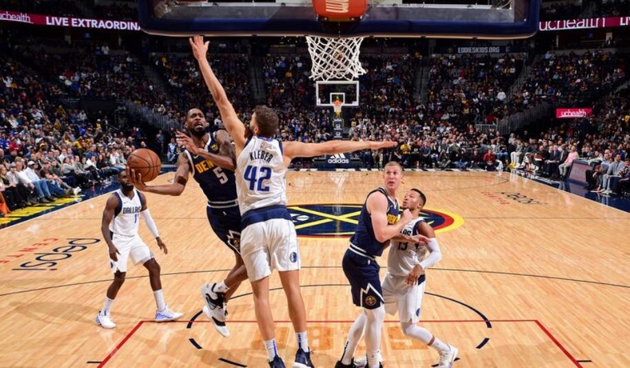 Sức mạnh đồng đều giúp Dallas Mavericks đánh bại Denver Nuggets
