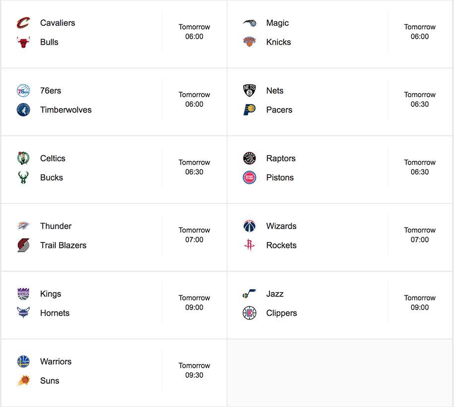 Lịch thi đấu NBA ngày 31/10: Golden State Warriors tiếp nối niềm vui?