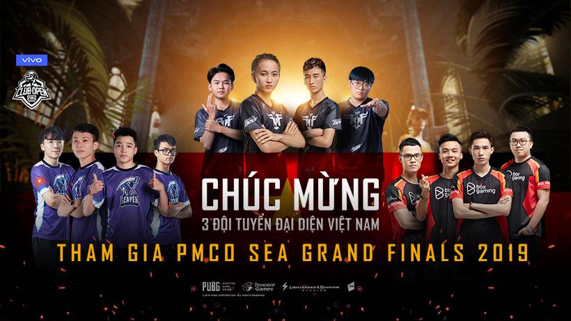 Lịch thi đấu PMCO SEA League Mùa Thu 2019 vòng chung kết