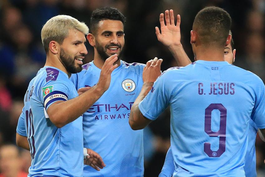 Man City thắng nhẹ Southampton trong ngày Aguero lập cú đúp