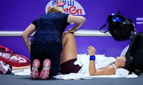 WTA Finals 2019: Svitolina vào bán kết, tới lượt Andreescu bỏ cuộc