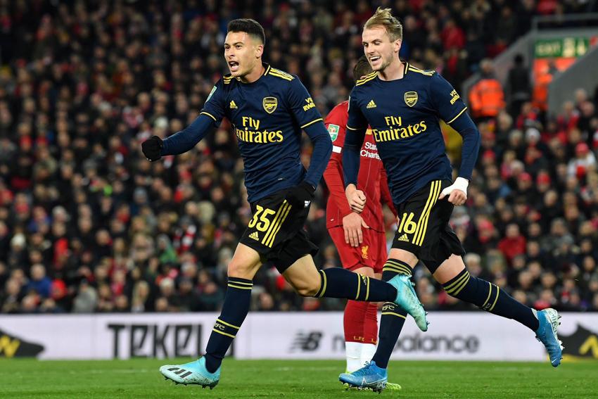 CĐV Arsenal tin Martinelli sẽ phá kỷ lục của Henry sau cú đúp trước Liverpool