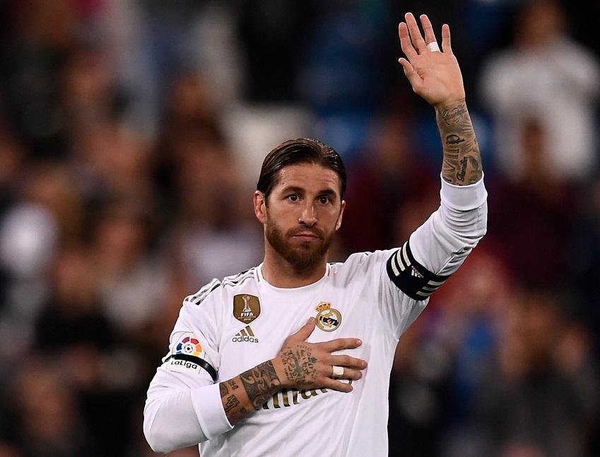 Sergio Ramos sánh ngang Messi với thành tích ghi bàn cho Real Madrid