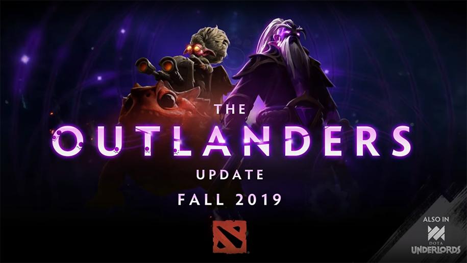 Dota 2 The Outlanders sẽ được update vào cuối tháng 11
