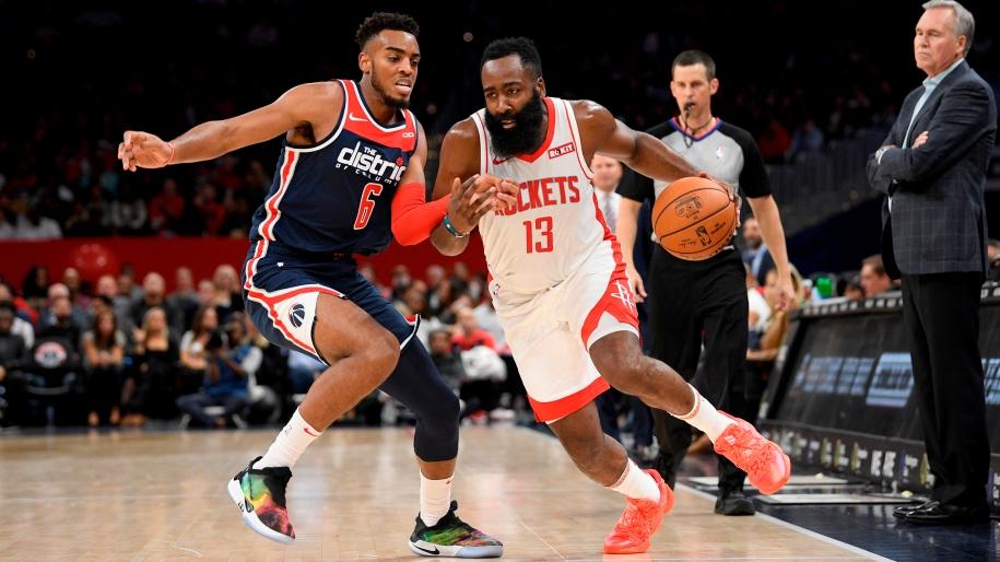 James Harden ghi 59 điểm, Houston Rockets và Washington Wizards lập kỷ lục