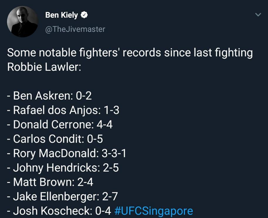 Robbie Lawler - tay đấm sao chổi của UFC