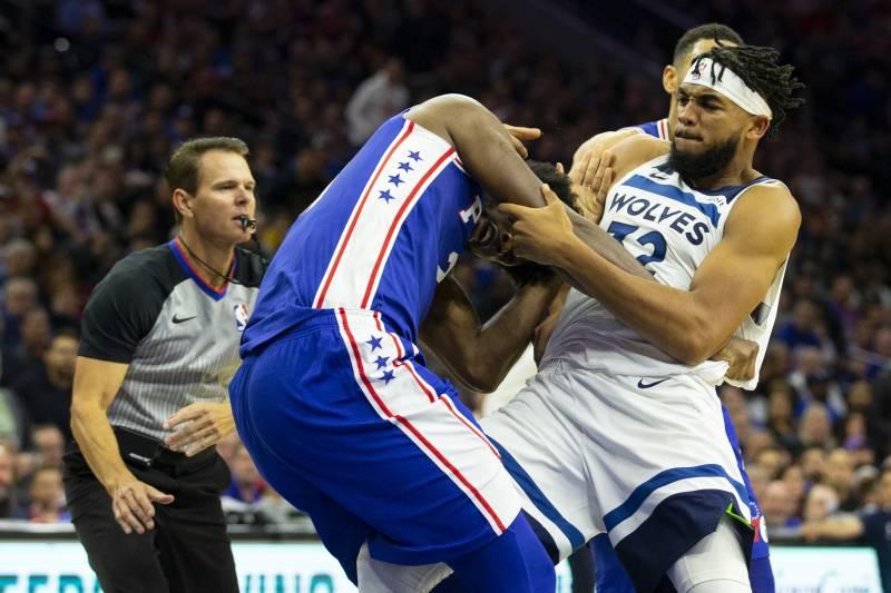 Timberwolves tố Ben Simmons chơi xấu, 76ers tố Anthony Towns khơi mào cuộc chiến