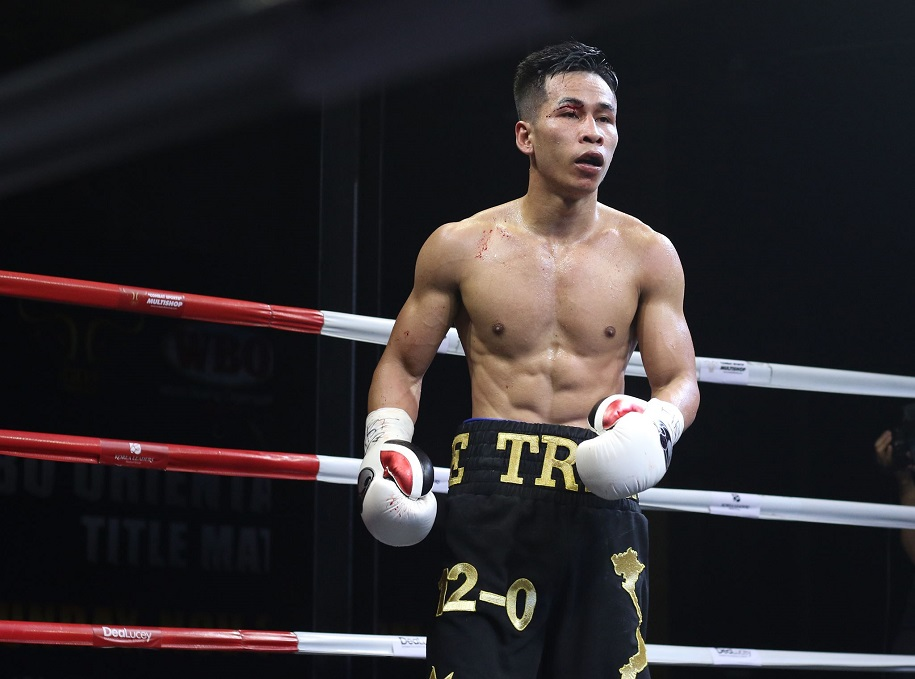 Chùm ảnh sự kiện tranh đai WBO châu Á chứng kiến Trần Văn Thảo lên ngôi