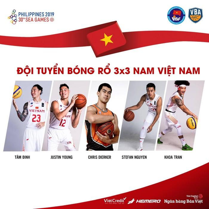 ĐT bóng rổ 3x3 Việt Nam dự giải giao hữu tại Indonesia