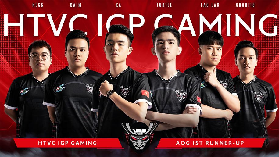 Thành viên Team Flash và IGP Gaming thi đấu tại AIC Liên quân 2019