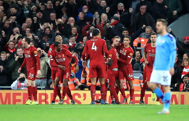 Fabinho là bùa may mắn của Liverpool ở Ngoại hạng Anh