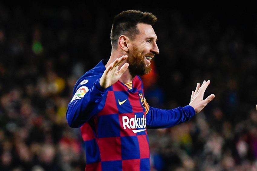 Messi cùng Barca san bằng kỷ lục lập hat-trick với Cristiano Ronaldo
