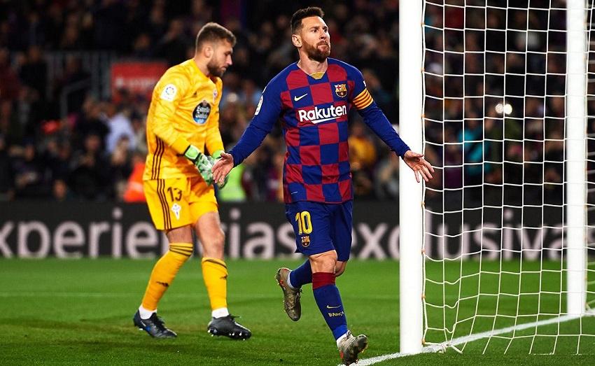 Messi tăng 5,5% tỷ lệ đá phạt thành công ở Barca kể từ năm 2015
