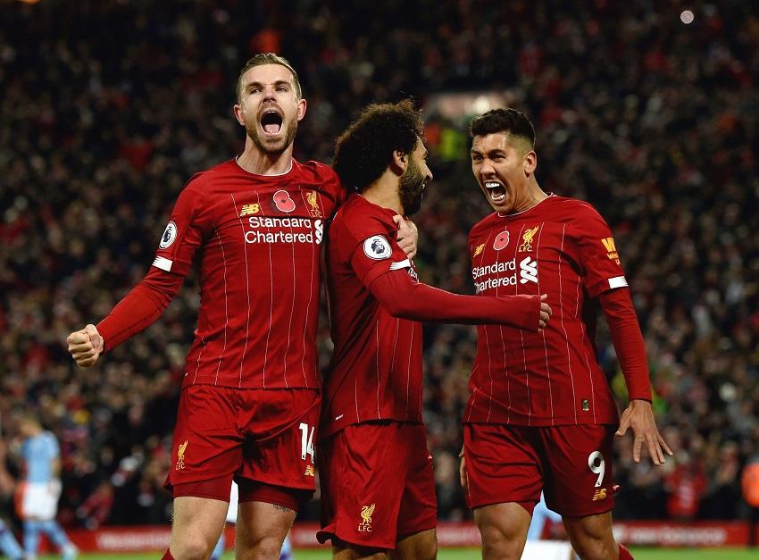 Salah áp sát top ghi bàn của Liverpool bằng tốc độ nhanh nhất