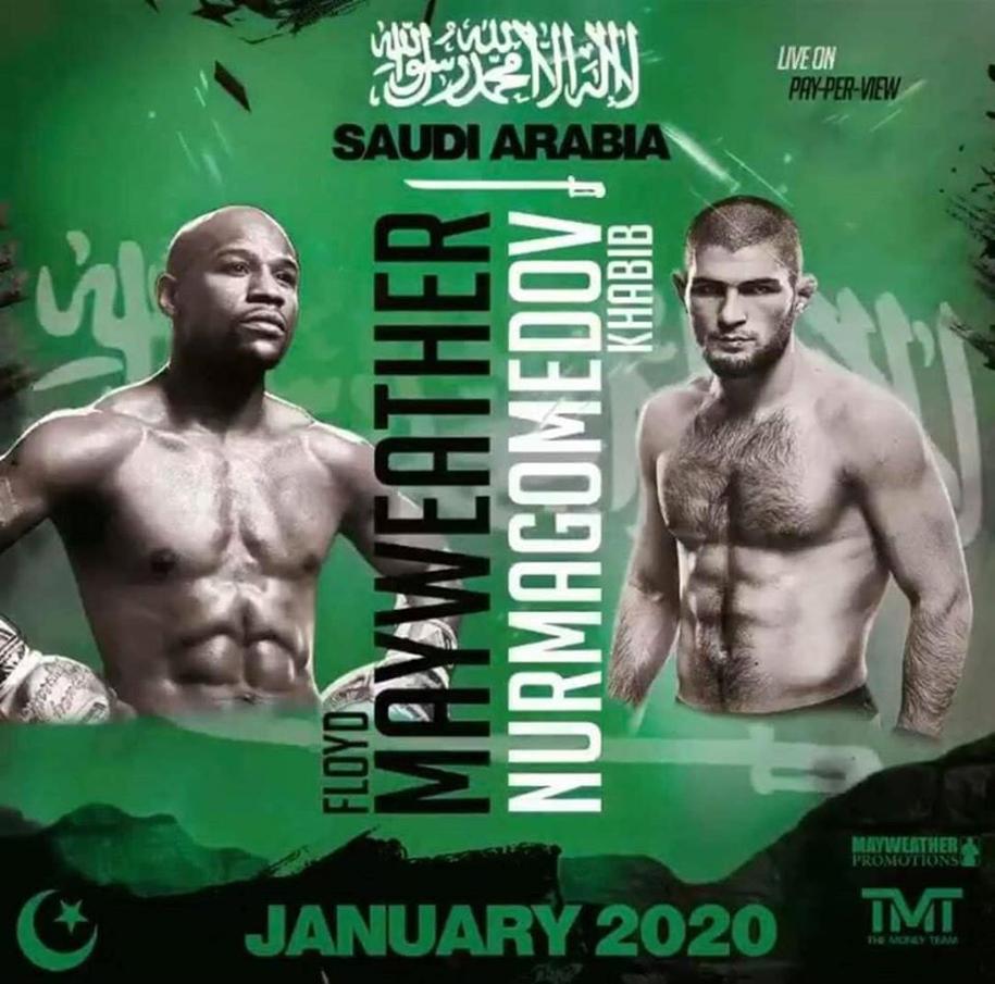 Thực hư chuyện Floyd Mayweather đấu Boxing với Khabib vào tháng 1/2020
