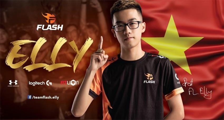 Thành viên Team Flash Liên quân Mobile gồm những ai?