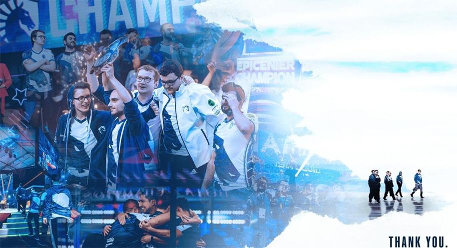 Team Liquid á quân TI9 trở lại với tên mới: Nigma Esports