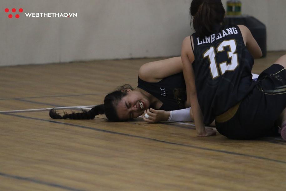 Tứ kết Giải bóng rổ Nữ Sinh viên Hà Nội 2019: Không có bất ngờ