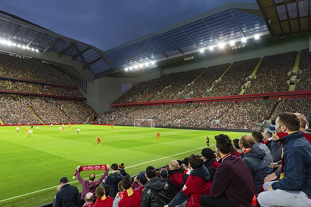 Tin bóng đá 29/11: Liverpool hé lộ hình ảnh về tái thiết sân Anfield