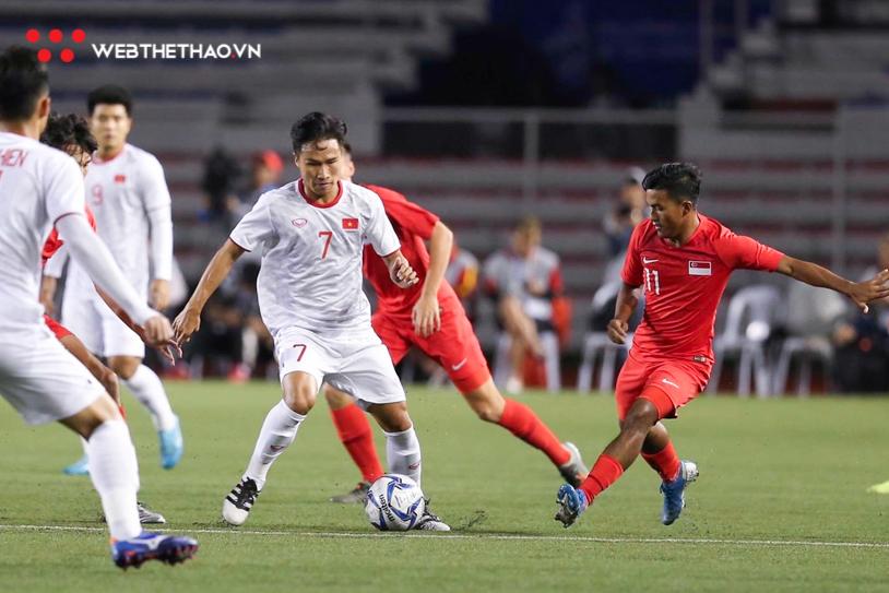 Kết quả U22 Việt Nam vs U22 Singapore (1-0): Người hùng Đức Chinh mang về 3 điểm
