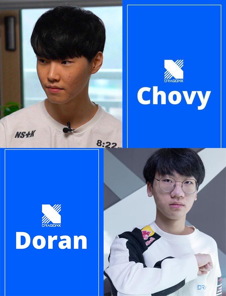 Tin chuyển lượng LMHT mới nhất ngày 4/12: Chovy và Doran đến DragonX