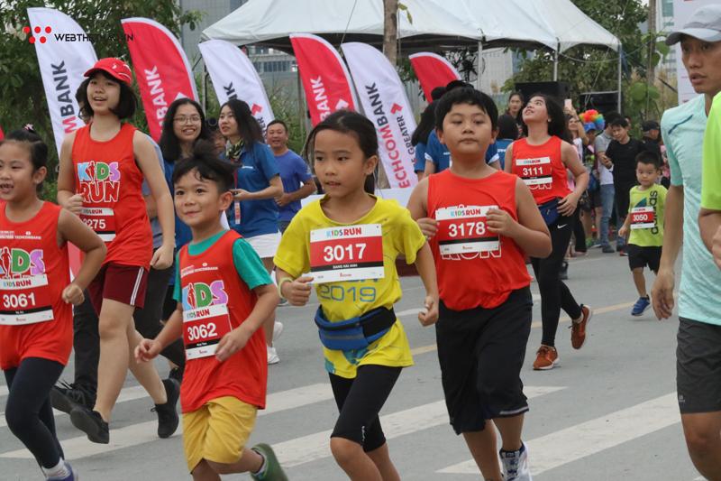 Kids Run khuấy động Techcombank Ho Chi Minh City International Marathon 2019