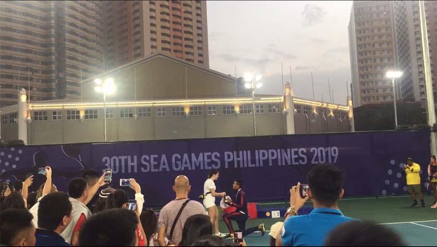 Quần vợt SEA Games 30: Bại trận, tỏ tình!