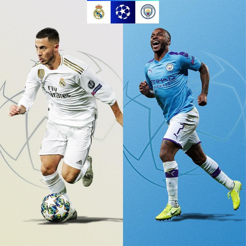 Kết quả bốc thăm Cúp C1 vòng 1/8: Man City gặp Real Madrid, Atletico Madrid đụng độ Liverpool