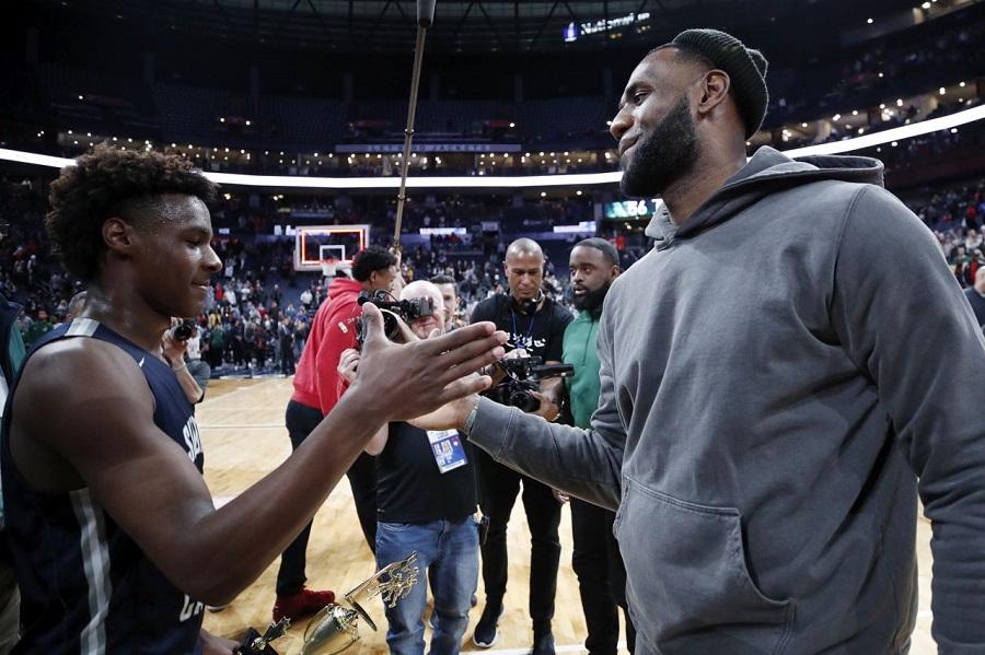 LeBron James: Được dõi theo con trai là điều tuyệt nhất trong cuộc đời tôi
