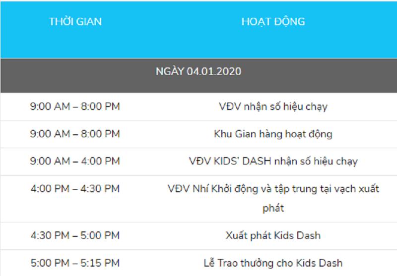 Tất tần tật về lịch và đường chạy của giải Marathon Thành phố Hồ Chí Minh 2020