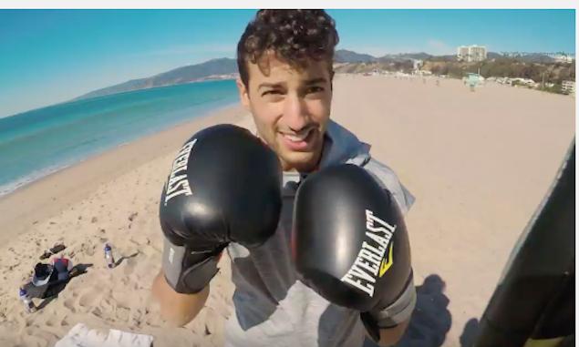 Quái xế F1 Daniel Ricciardo sẵn lòng trải nghiệm cảm giác thượng đài MMA