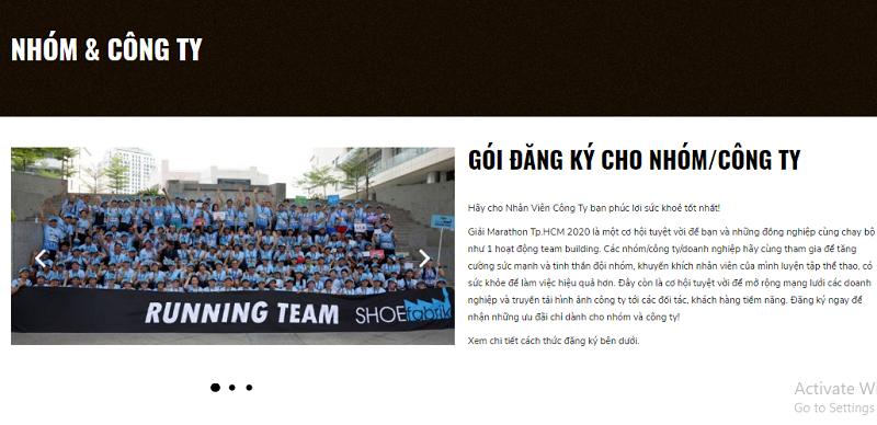 Ho Chi Minh City Marathon 2020 tiên phong ưu đãi cho vận động viên tham dự giải