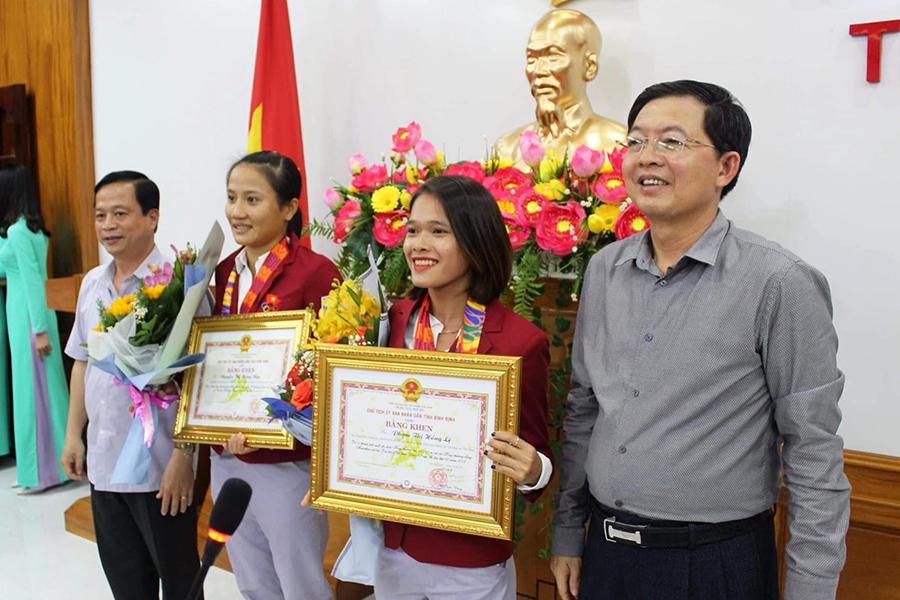 """Hồng Lệ nhận khoản thưởng lớn từ Bình Định sau thành tích """"gây bão"""" ở SEA Games 30"""
