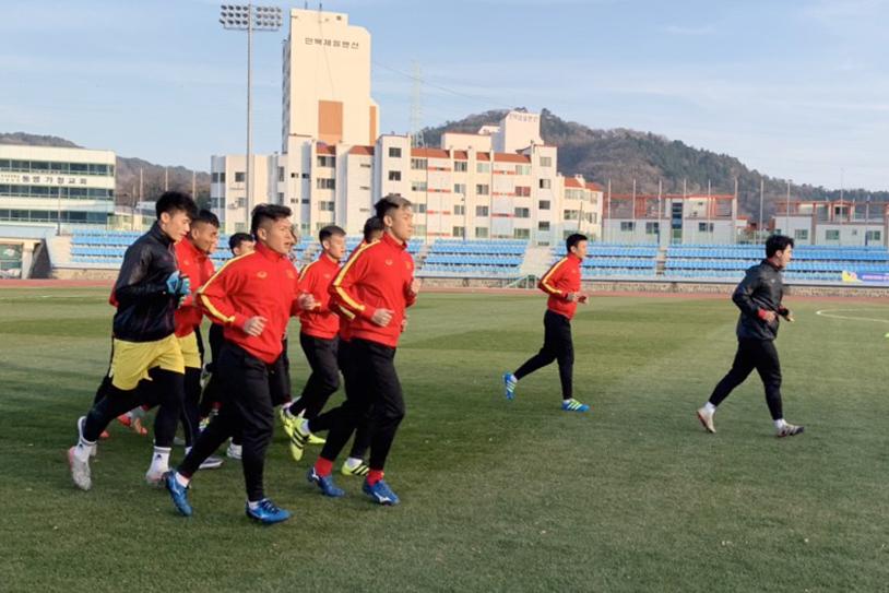 Kết quả U23 Việt Nam vs Đại học Yeungnam (0-0): U23 Việt Nam hòa đáng tiếc