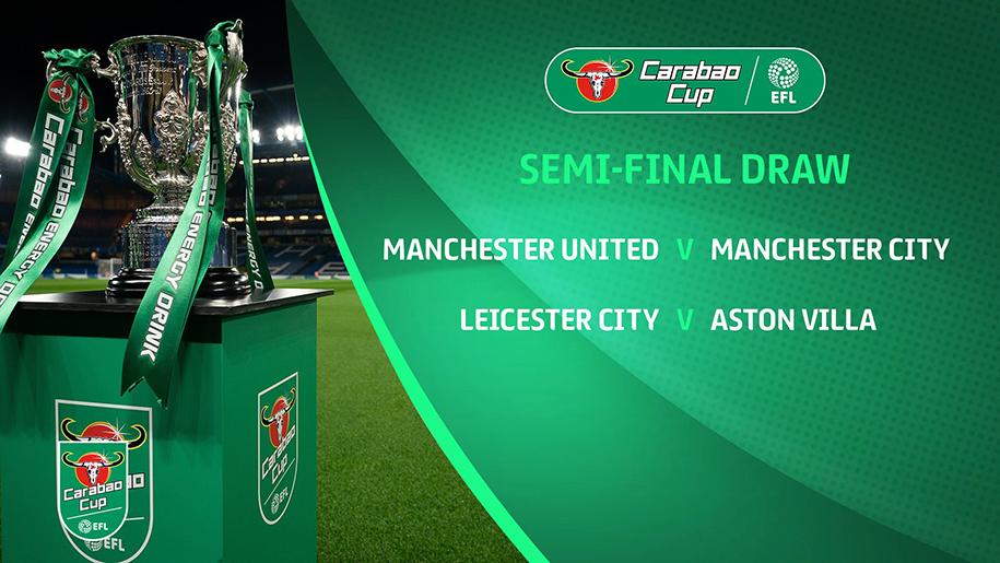 Lịch thi đấu bán kết Cúp Liên đoàn Anh: Chung kết sớm derby Manchester