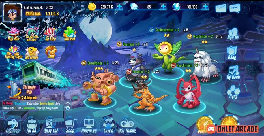 Liên Quân Thần Thú Digimon: Thần Thú Đại Chiến
