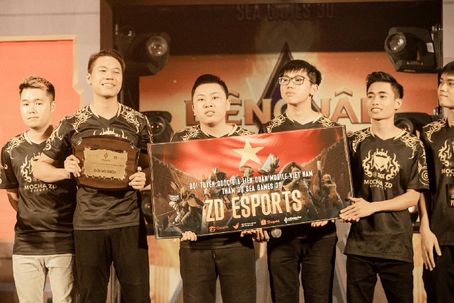 Đội hình Mocha ZD Esports tan rã sau thất bại SEA Games 30