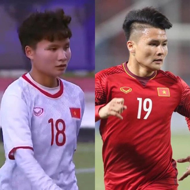"""Cầu thủ Nguyễn Thị Vạn được ví như """"em gái Quang Hải"""" vì giống nhau đến kinh ngạc"""