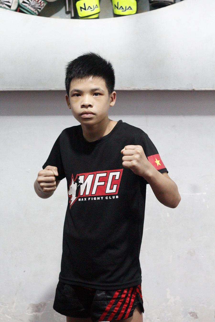 Võ sĩ nhí từ câu lạc bộ Max Fight bước đến Bài Danh Chiến