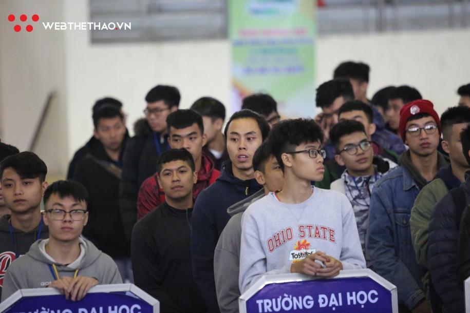 12 đội tham dự Giải Bóng rổ Nam Sinh viên Toàn Quốc 2019