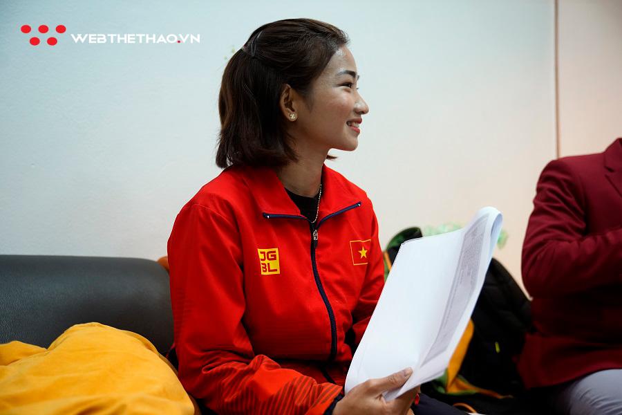 Cô gái vàng điền kinh Nguyễn Thị Oanh: Yêu thỏ và thích trai Việt