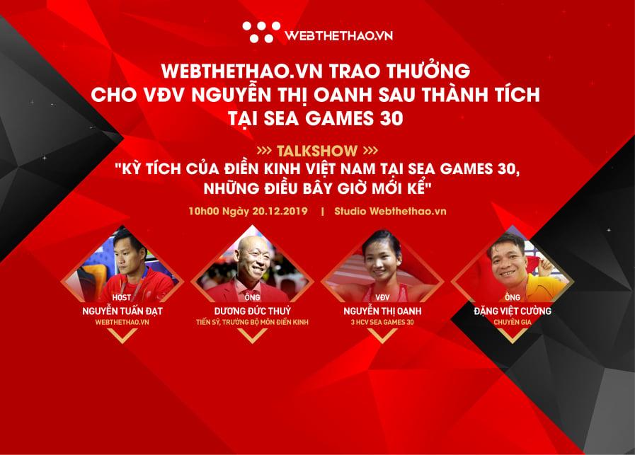 Talk Show Kỳ tích của điền kinh Việt Nam tại SEA Games 30, những điều bây giờ mới kể