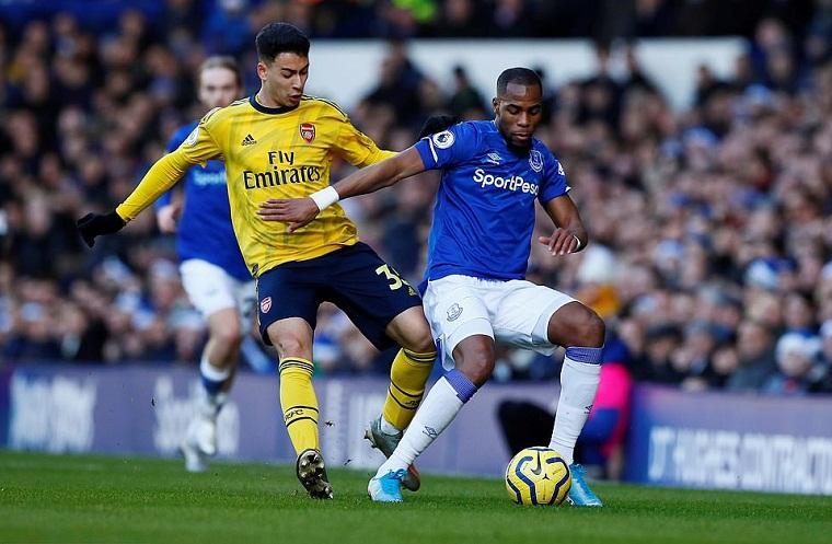 Hàng công Arsenal gây sốc về mức độ bế tắc ở trận gặp Everton