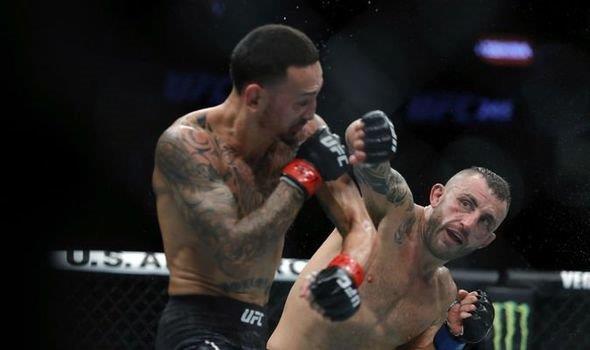 UFC Busan: Korean Zombie lạnh lùng knockout lão tướng Frankie Edgar ngay hiệp 1