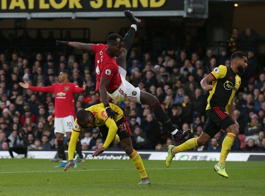 Tại sao Pogba là dấu hiệu tích cực duy nhất của MU khi thua Watford?