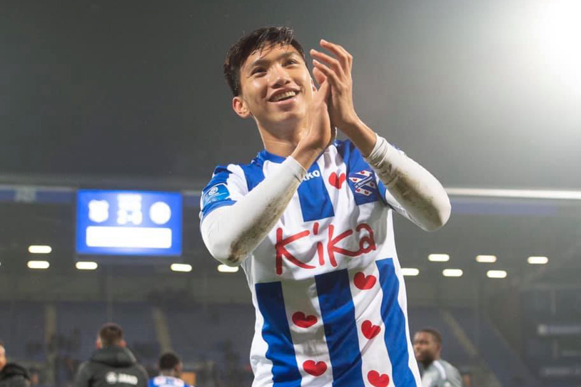 Heerenveen không nhả Văn Hậu cho U23 Việt Nam bất chấp kỳ nghỉ đông ở Hà Lan