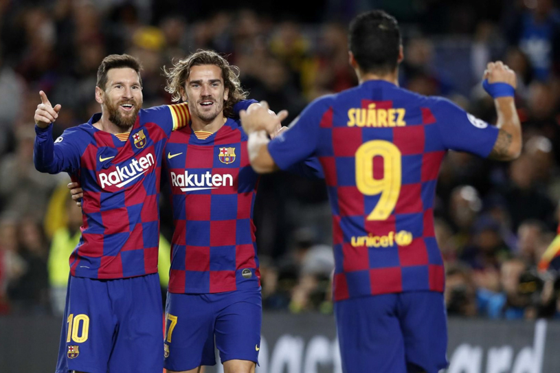 Barca chấp cả châu Âu với cây đinh ba hiệu quả bậc nhất