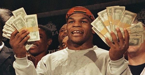 Mike Tyson phá sản bởi lối sống sa hoa sau ánh hào quang